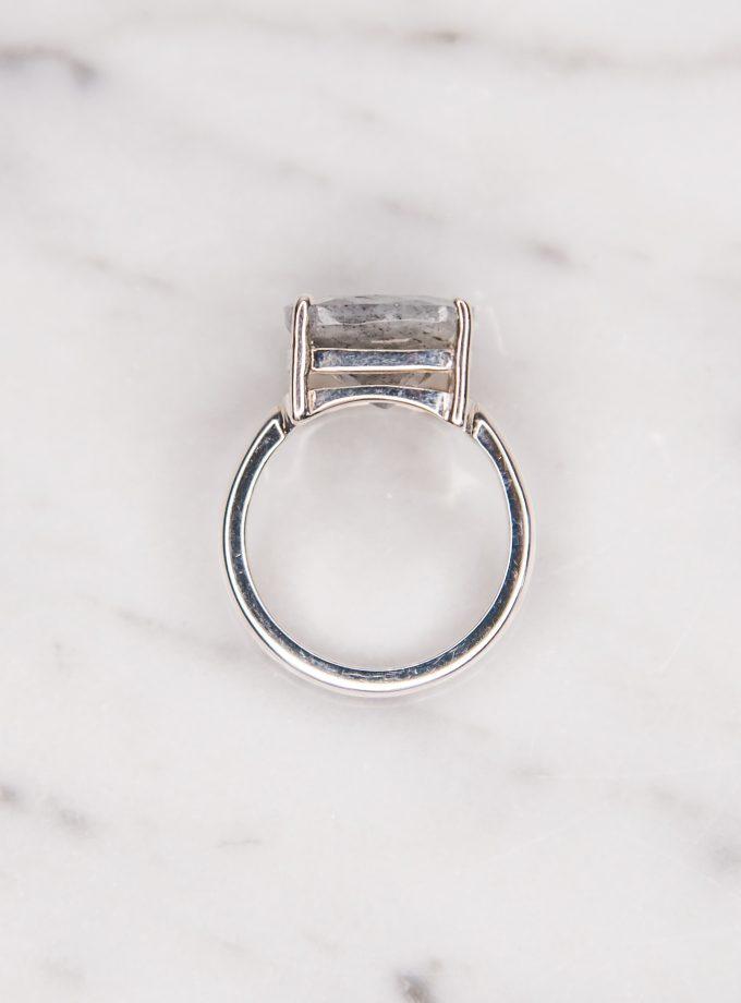 anillo labradorita frente