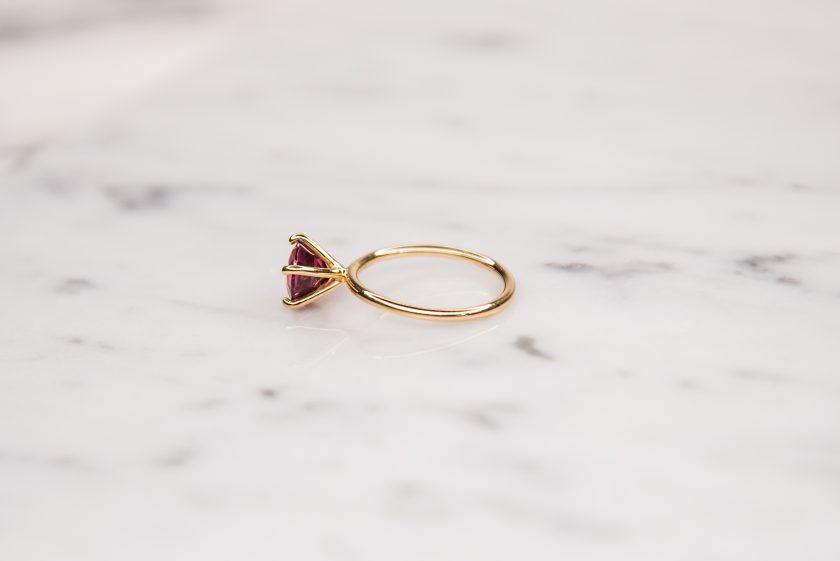 anillo rodolita lado