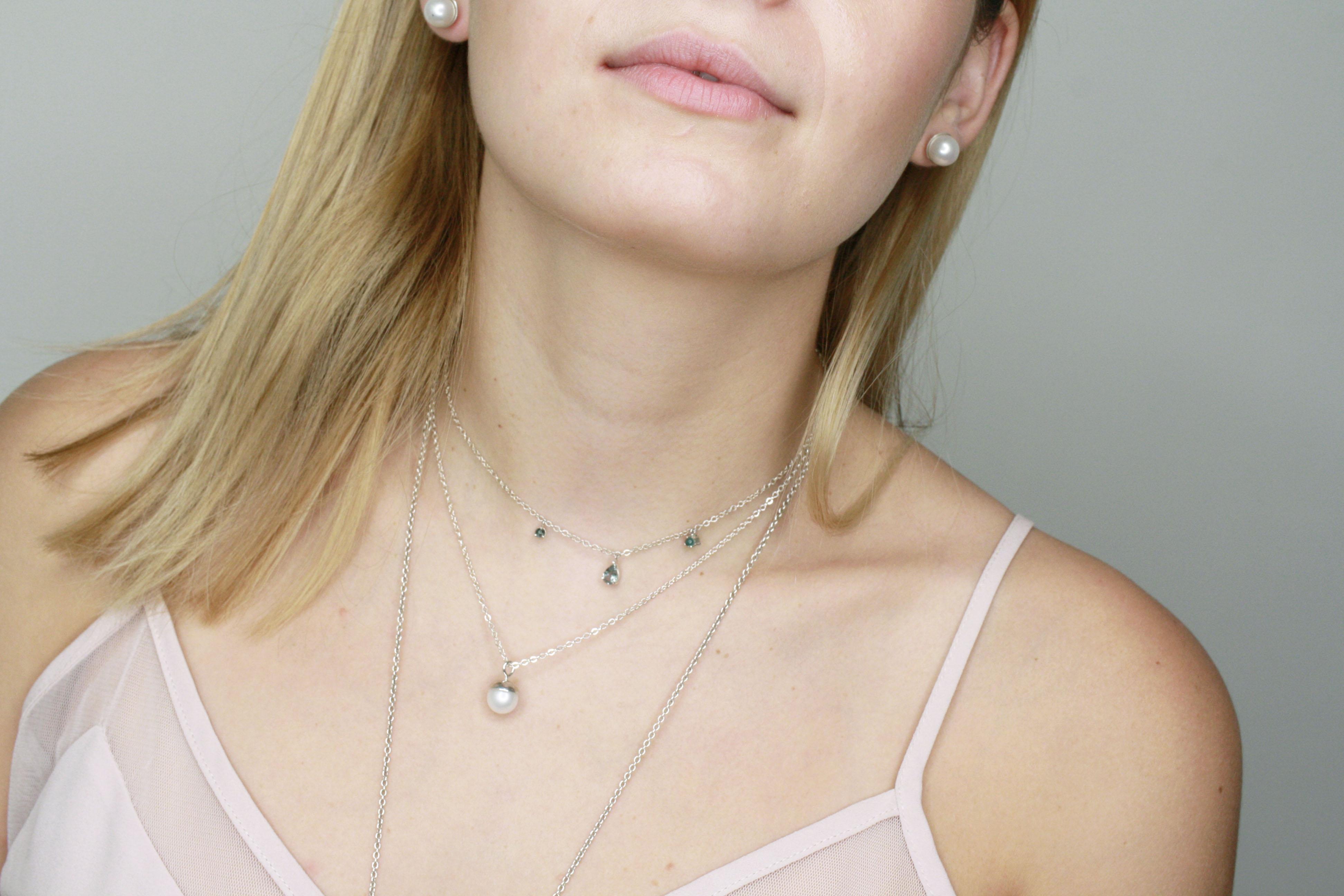 Collares plata AnaAllier