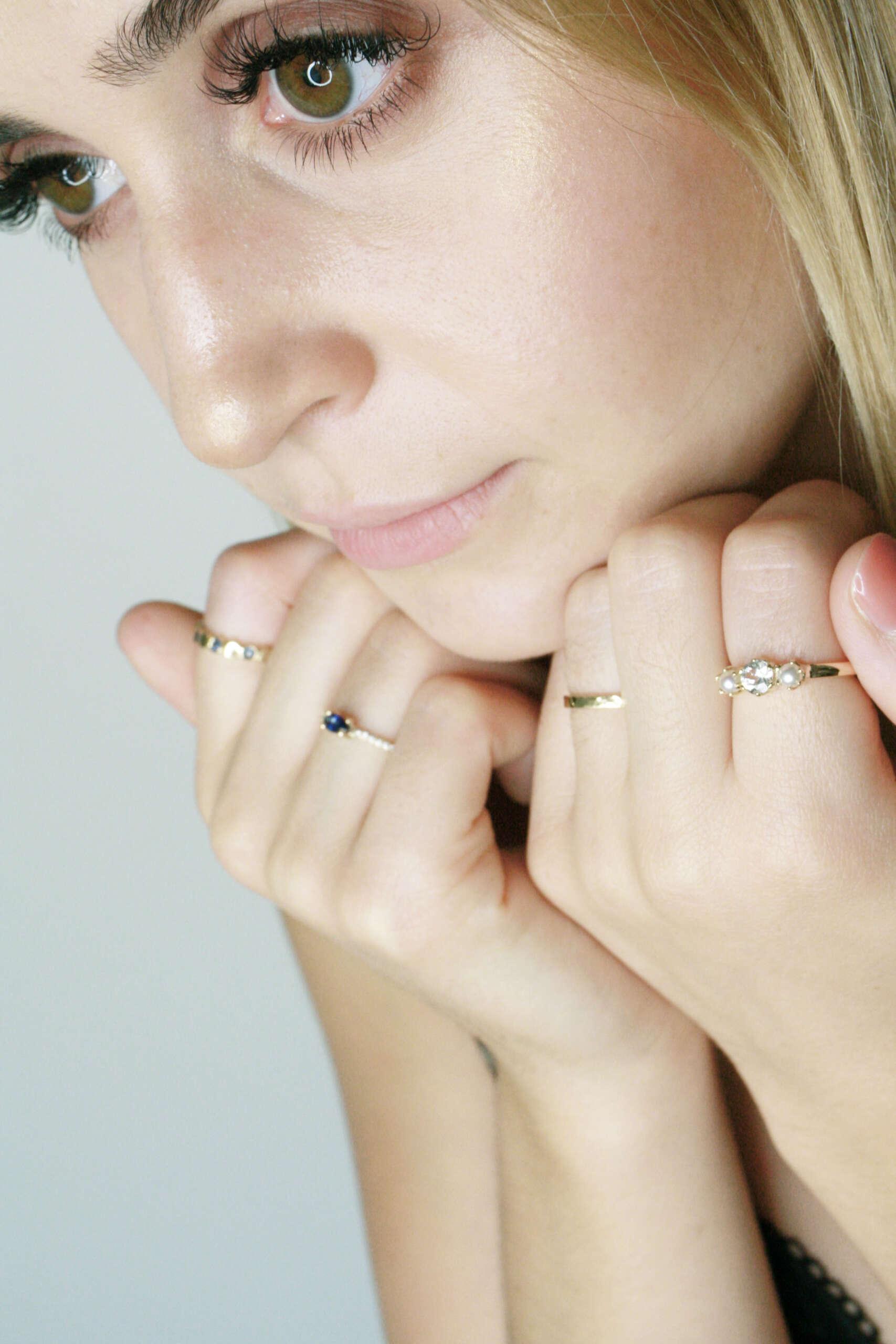 tallas especiales anillos ana allier